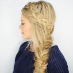 Dutch Fishtail Side Braid