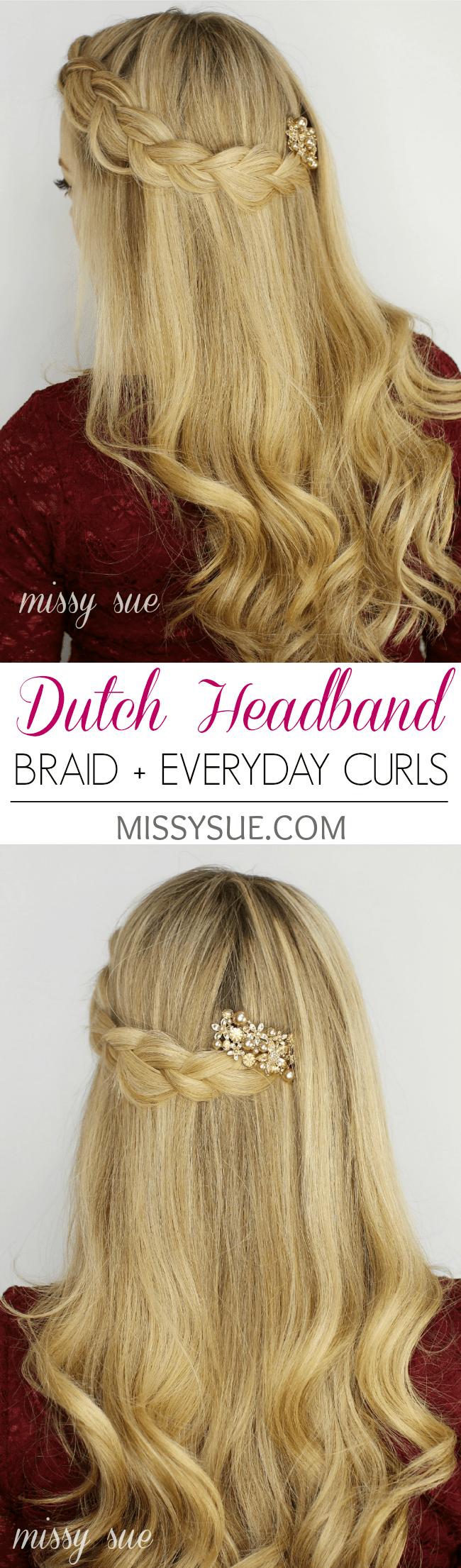 Dutch Headband Braid