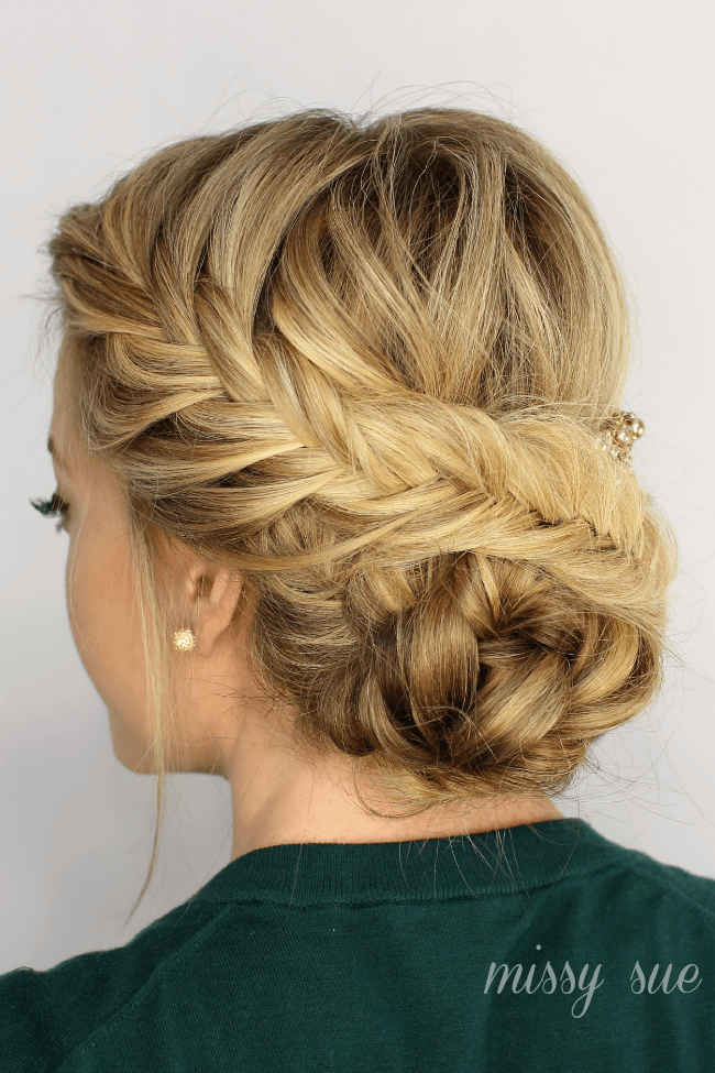 Image result for Fishtail Florette Updo
