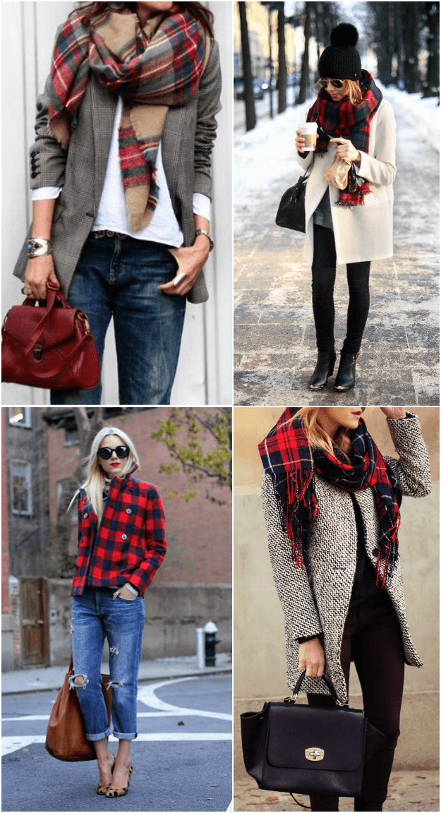winter style: plaid inspiration