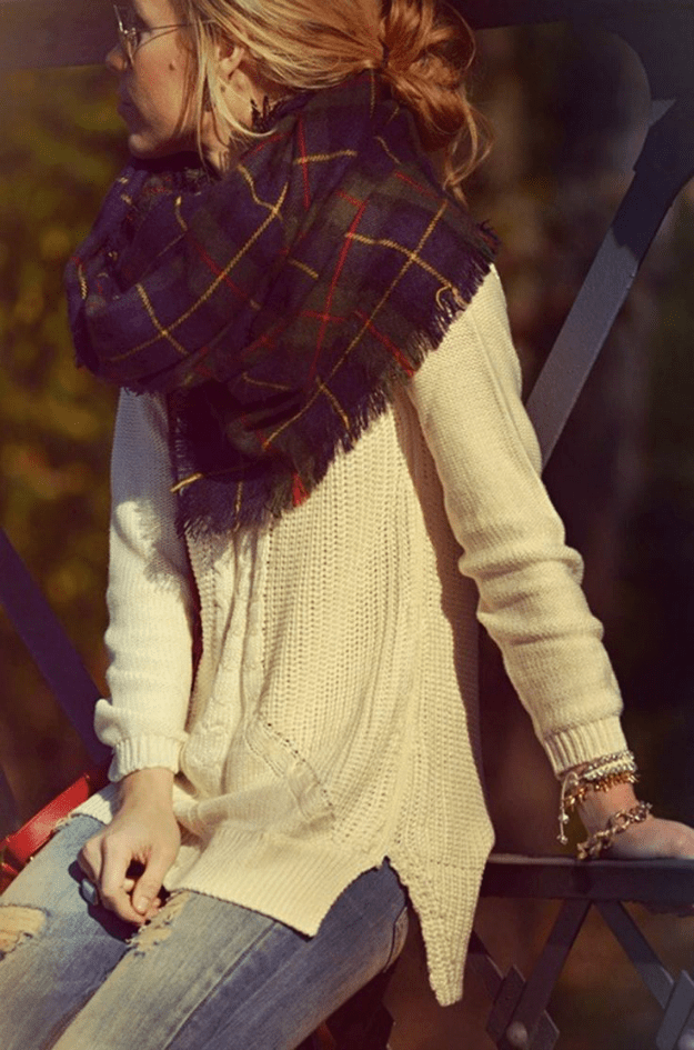 winter style: plaid fever
