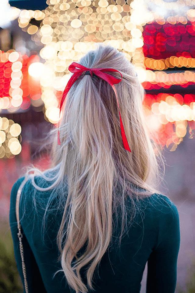 Holiday Hair Bows