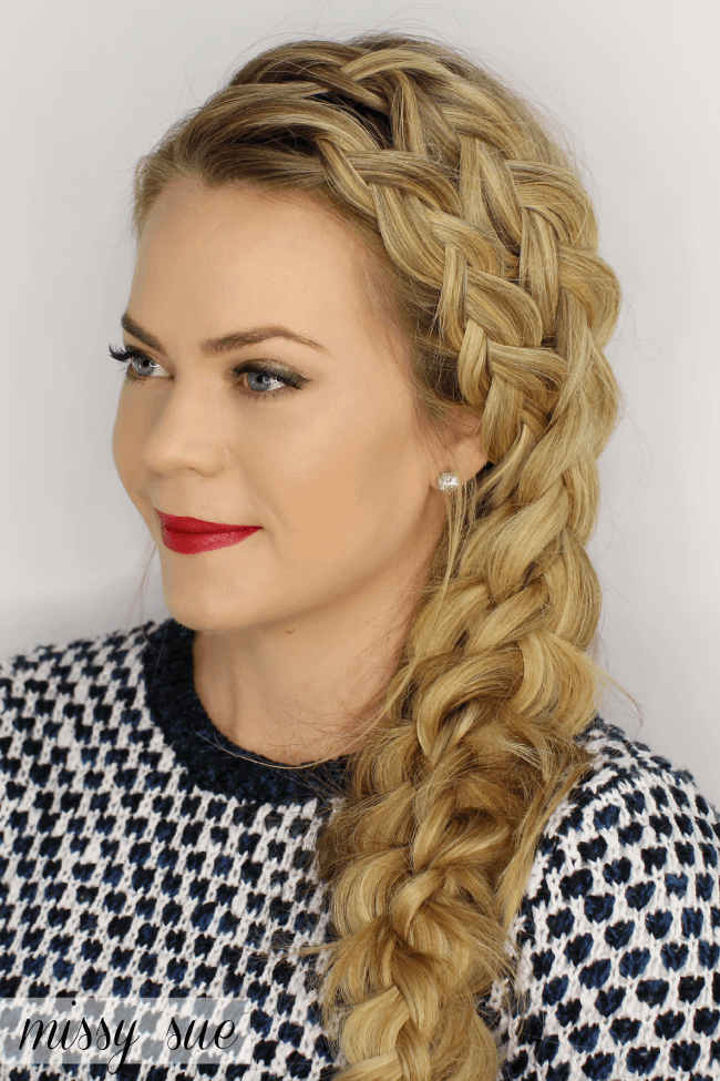 Double Dutch Merged Side Braid