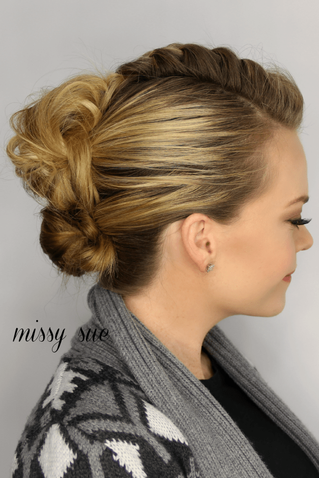 Admirable Mohawk French Braid Updo Hairstyles For Men Maxibearus
