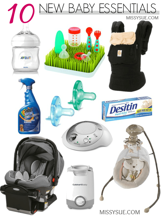 10-new-baby-essentials-for-new-mom