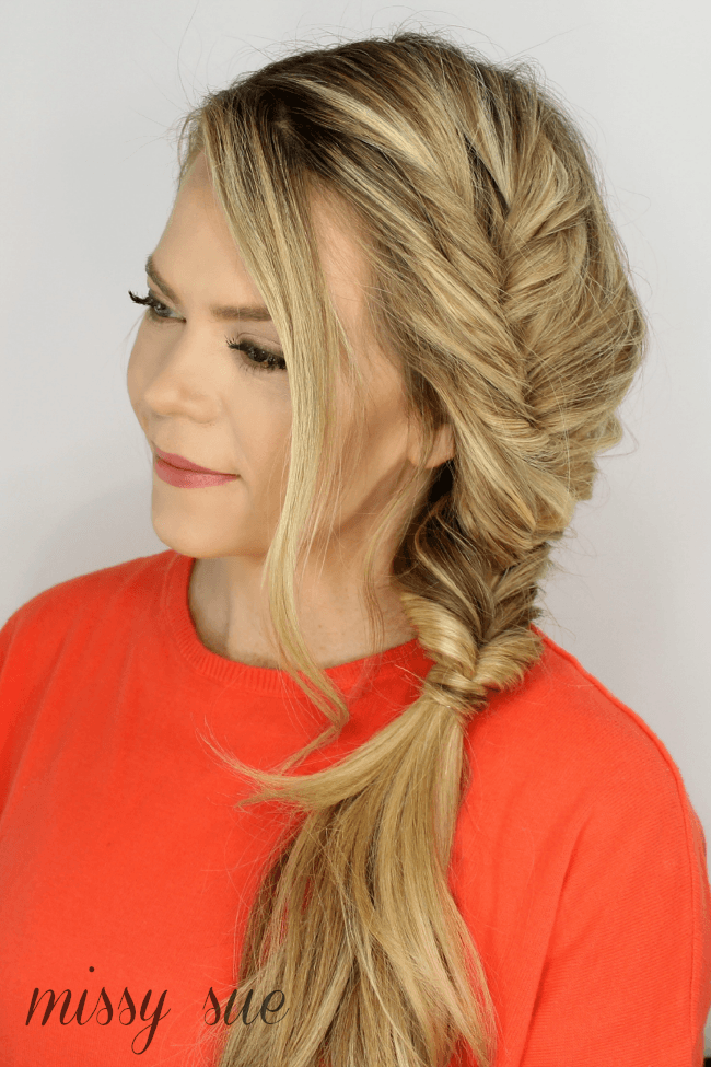 Pleasing Faux Fishtail Braid Hairstyles For Women Draintrainus