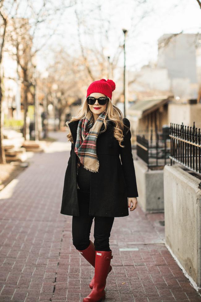 plaid-scarf-red-hunters