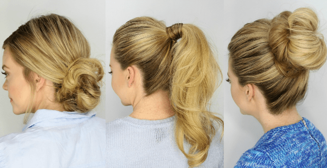 Hairstyles For Short Hair Under 5 Minutes: 3 Easy 5 Minute Hairstyles