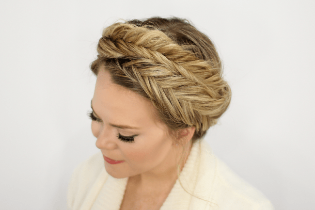 Fishtail Crown Braid | Braid 1