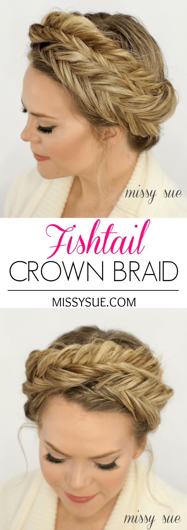 Fishtail Crown Braid | MissySue.com