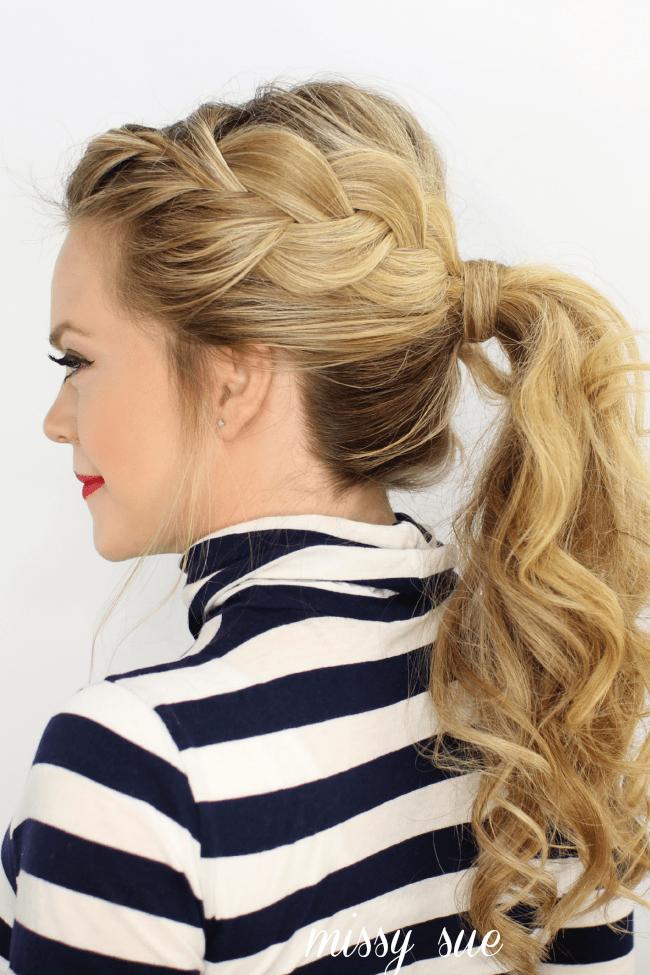 Super Side French Braid Ponytail Short Hairstyles For Black Women Fulllsitofus
