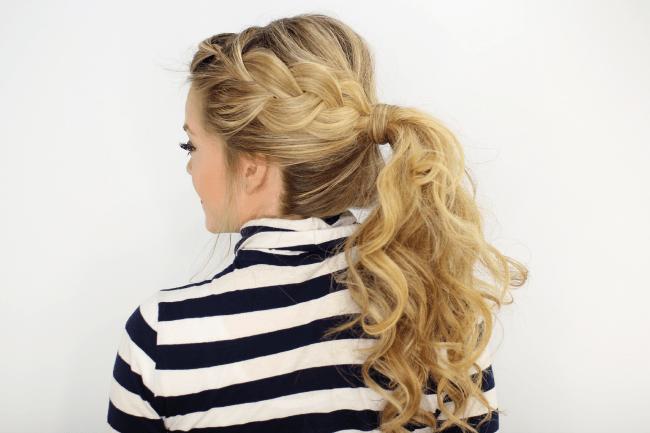 Terrific Side French Braid Ponytail Short Hairstyles For Black Women Fulllsitofus
