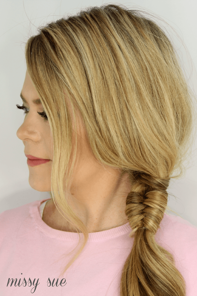 Infinity Wrapped Side Braid | MissySue.com