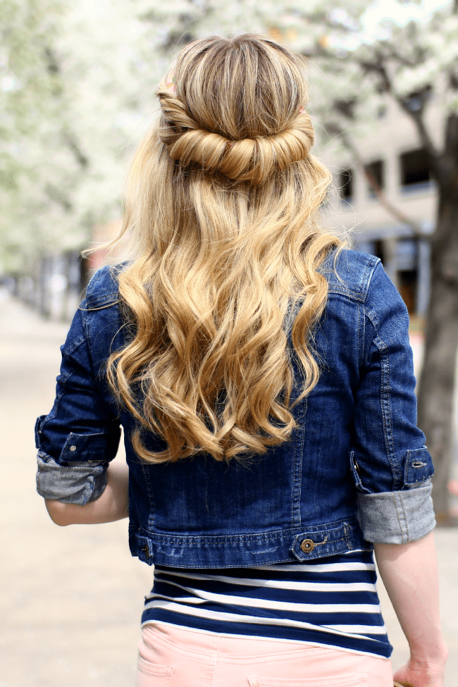 wrapped-half-updo-curls