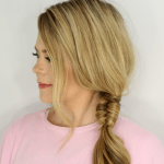 Infinity Wrapped Side Braid