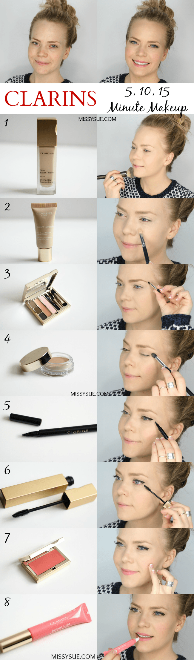 Clarins 5 10, 15 Minute Makeup