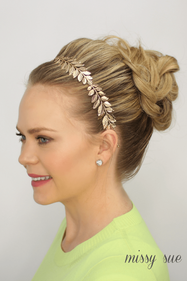 Braided Bun Updo