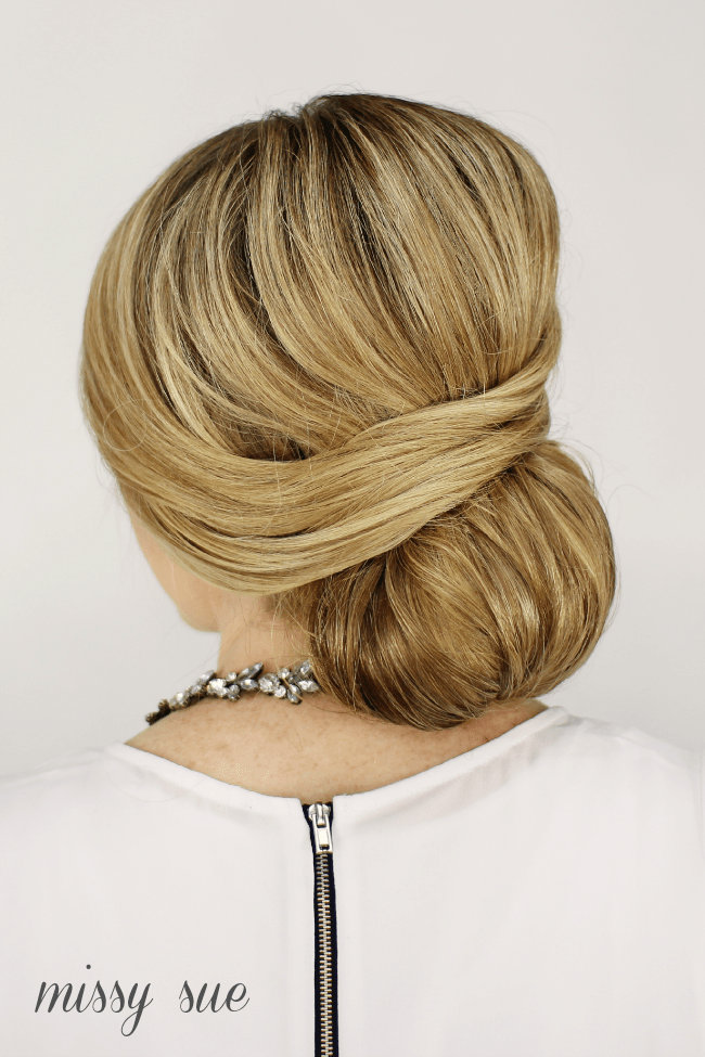 Wrapped Low Bun