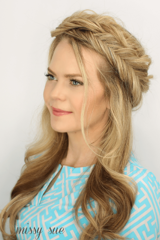 Fishtail Crown Braid | MissySue.com