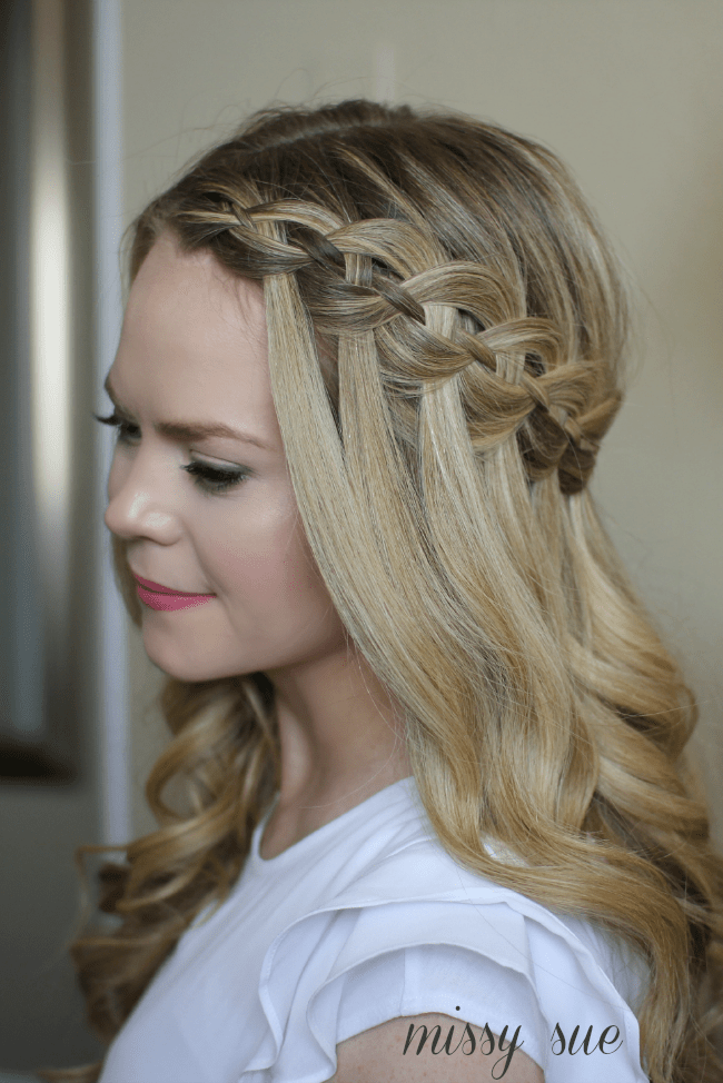 Four Strand Waterfall Braid