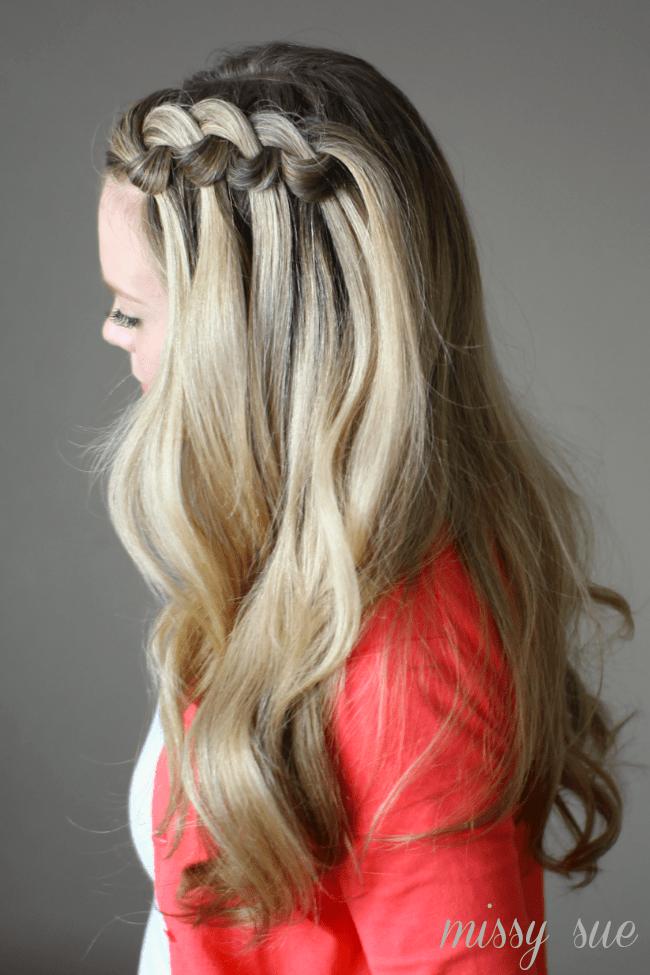 Spiraled Knot Braid