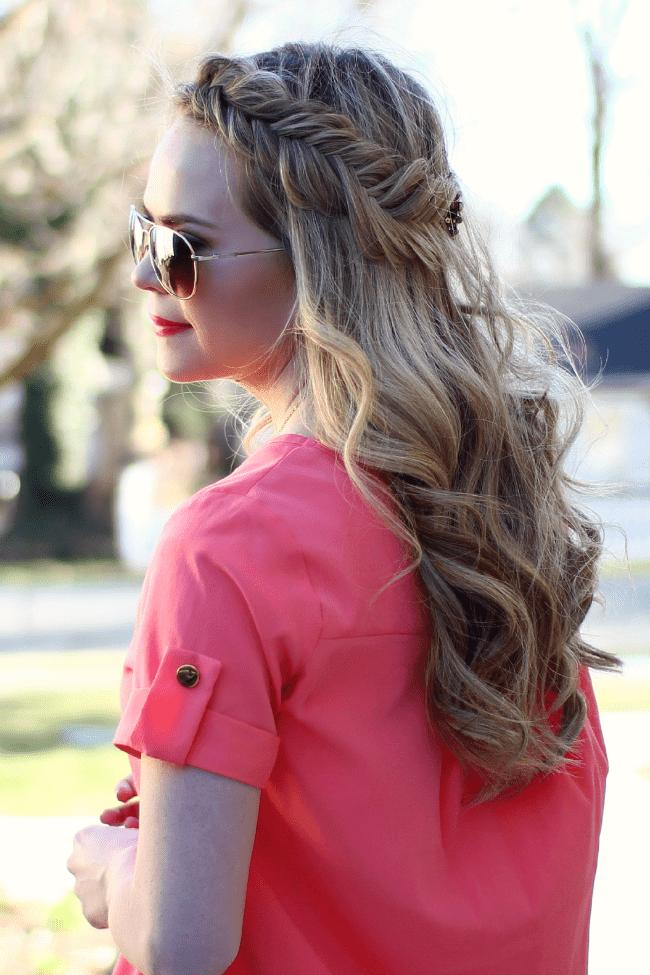 pink-peach-spring-dutch-fishtail-headband-braid