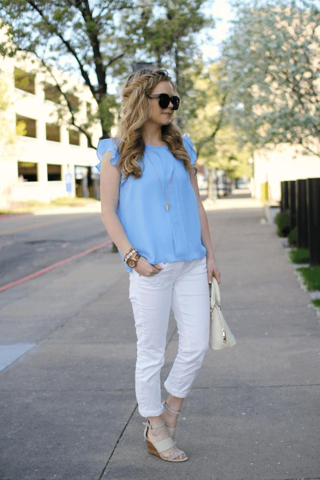 blue-shirt-white-denim