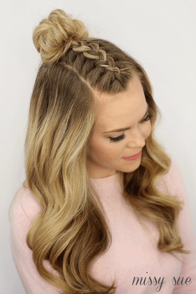 Mohawk Braid Top Knot Missy Sue Bloglovin