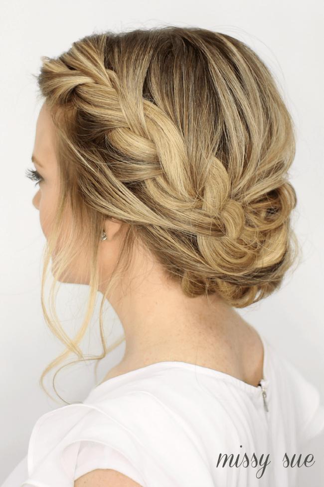 Pleasant Updos Missy Sue Hairstyles For Women Draintrainus