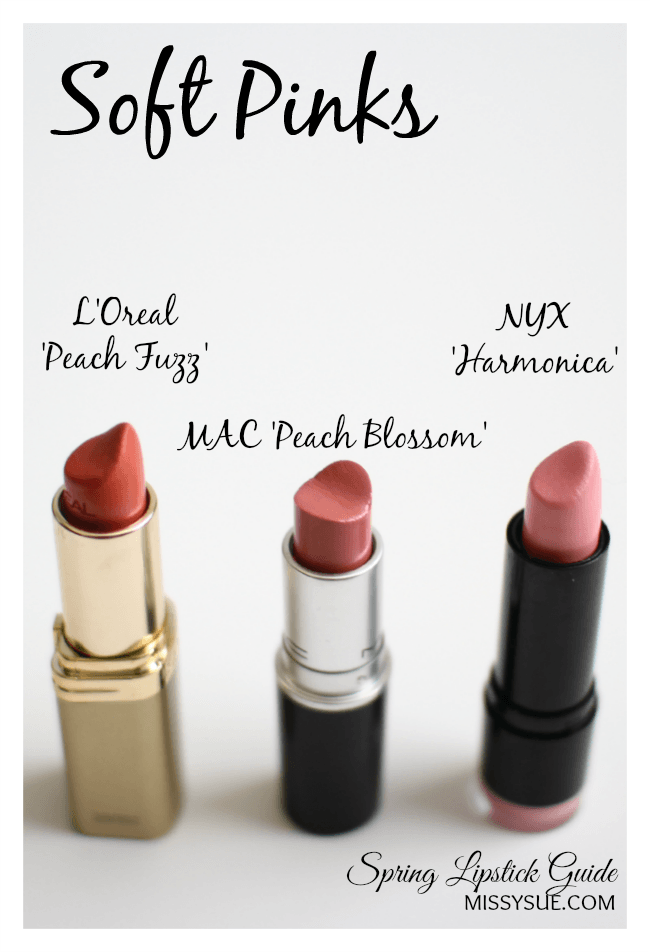 Spring Lipstick Guide
