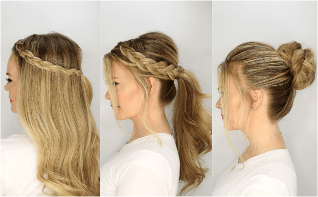 Summer Hairstyles : three-summer-hairstyles-easy