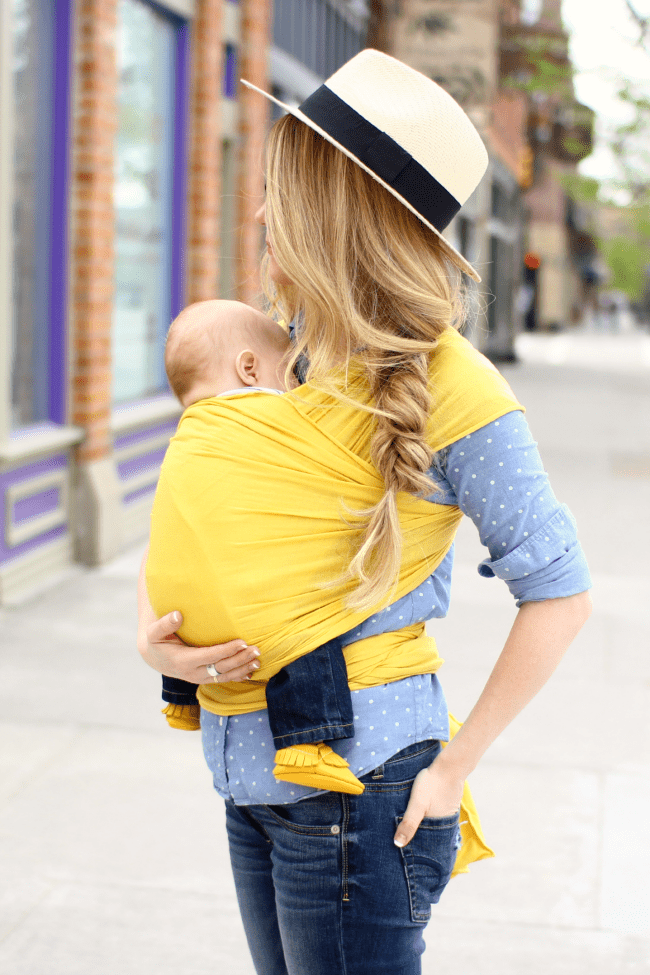 baby-wrap-summer-fedora-braid