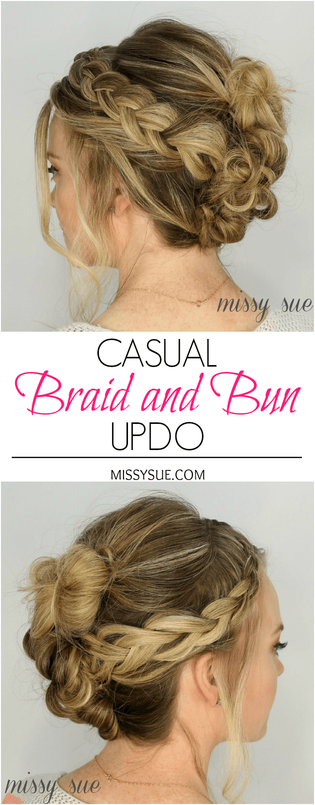 braid-three-buns-hairstyle-summer