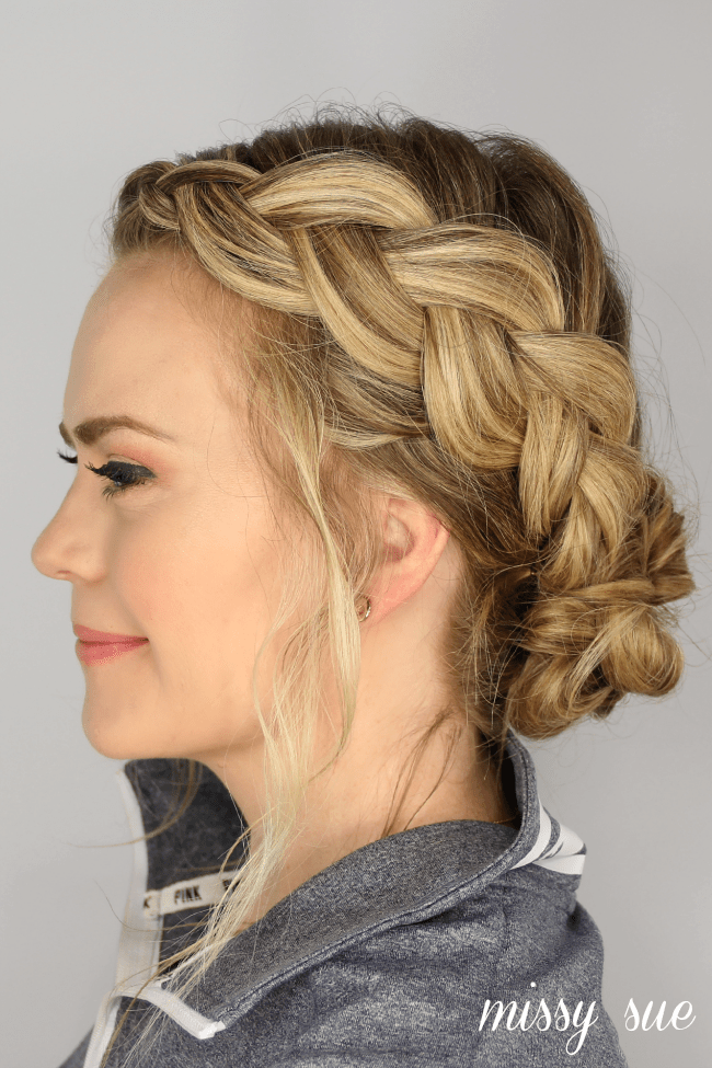 dutch-braid-knotted-bun