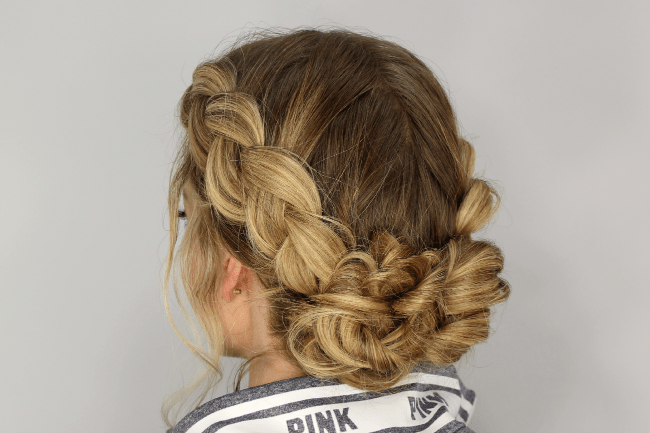 Dutch Braids and Messy Buns