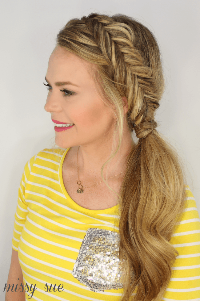 dutch-fishtail-braid-pony
