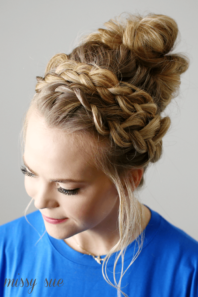 braid-wrapped-top-knot