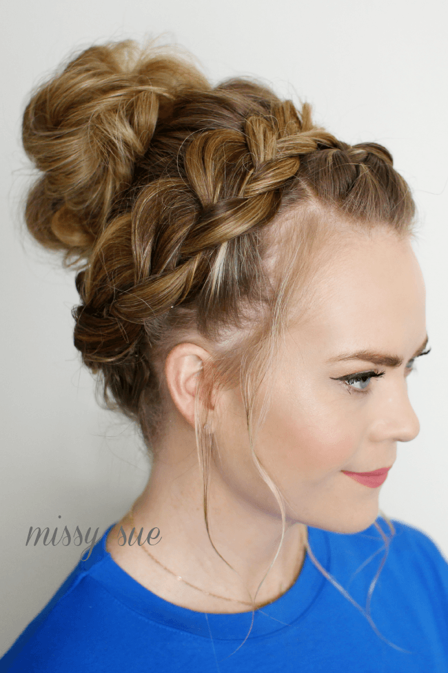 dutch-braid-top-knot