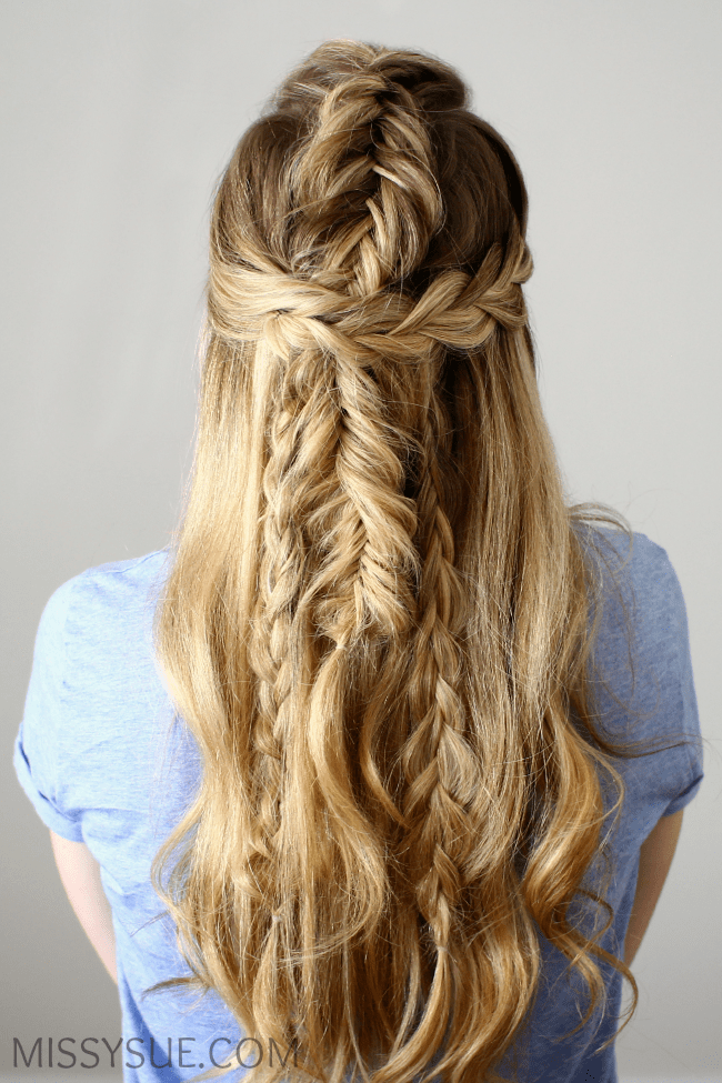 half-up-mermaid-braids-tutorial