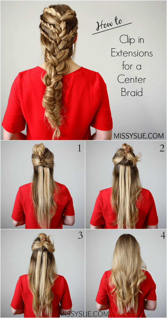 how-to-clip-in-extensions-for-a-center-braid