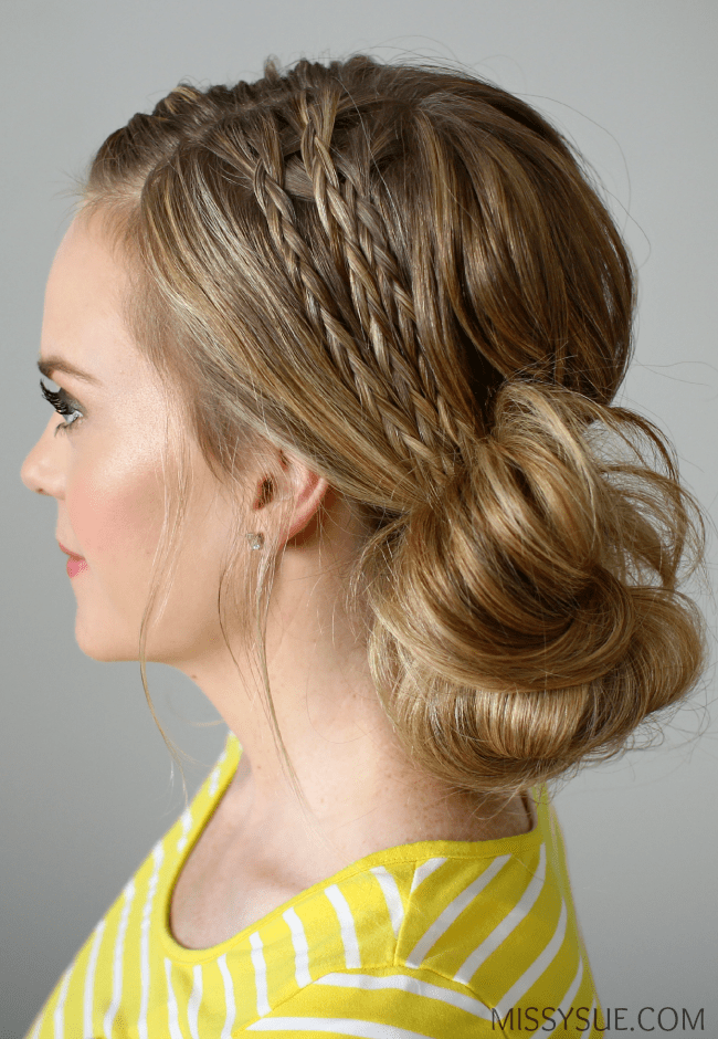 Double Braided Side Bu...