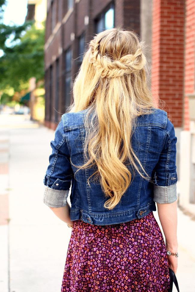 flare-dress-fishtail-french-braids