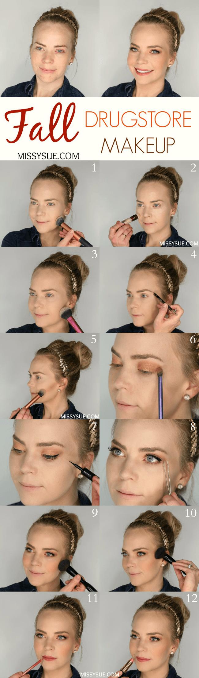 Fall Drugstore Makeup