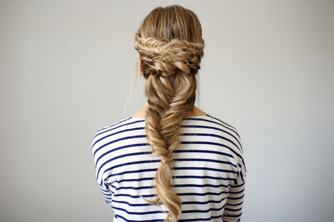 Bohemian Fishtail French Braid