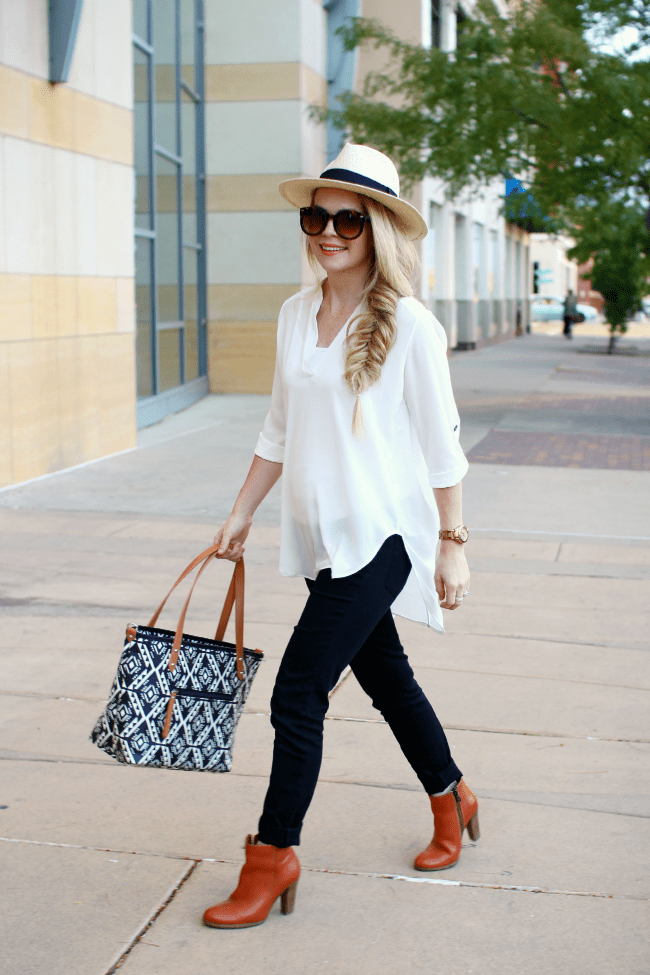 hat-white-top-black-jeans-2 | MISSY SUE