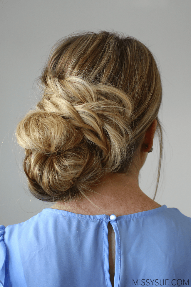 fishtail-french-braid-messy-bun-tutorial