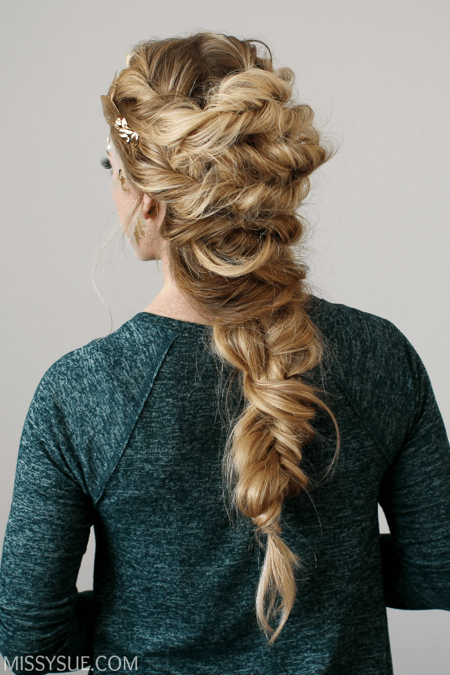 Twisted Mermaid Braid