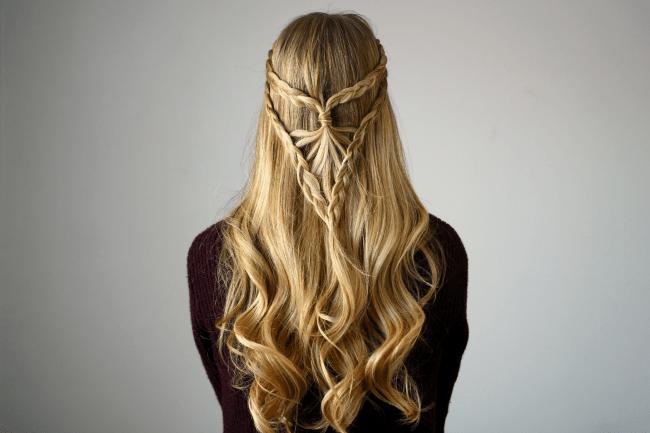 Bohemian Arrowhead Braid