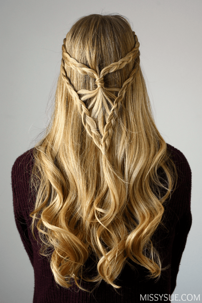 Bohemian Arrowhead Braid