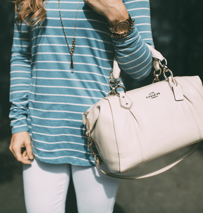 coach-handbag-blue-striped-top